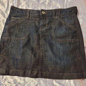 Calvin Klein Jeans Dark Wash Jean Skirt